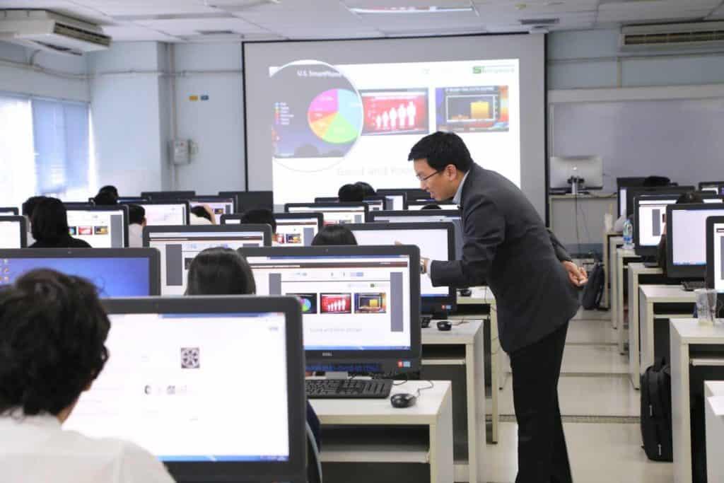 data visualization course thailand kmitl