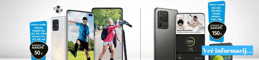 Športno poletje s Samsung napravami.
