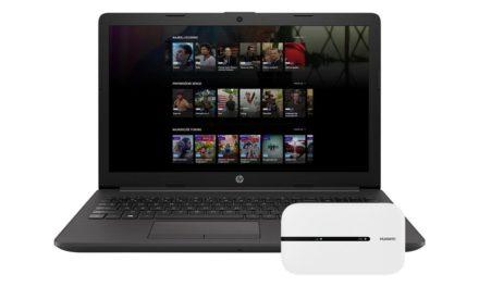 Prenosnik HP 255 G7 z dostopno točko Huawei E5576-320