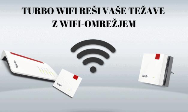 Turbo WiFi reši vaše težave z WiFi-omrežjem