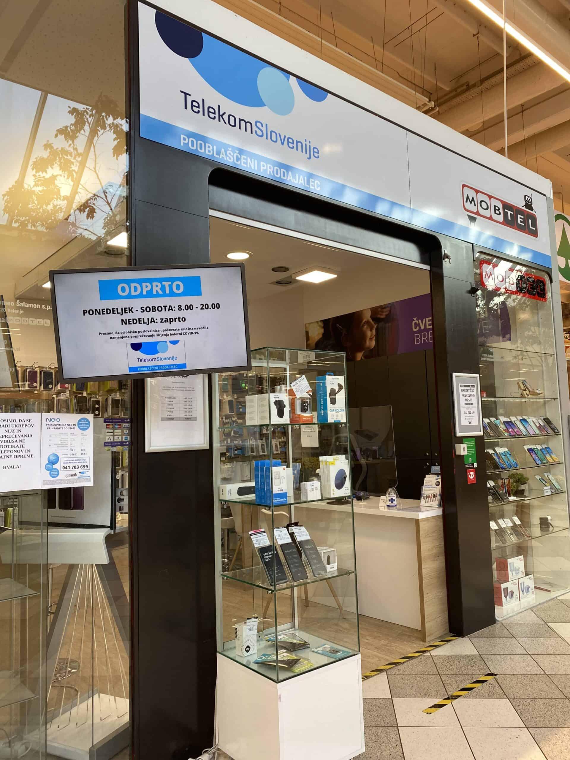 Pooblaščeni prodajalec Telekoma Slovenije | Mobtel Šalek