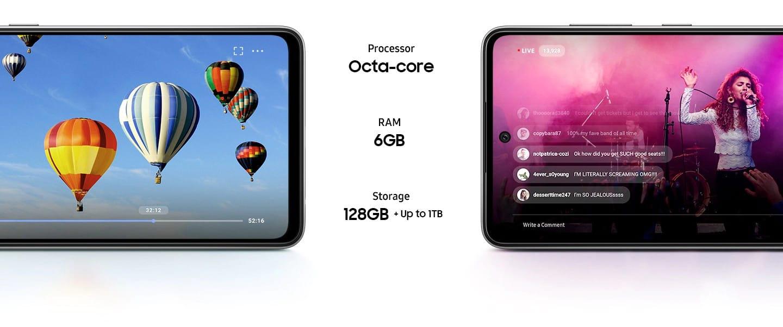 Samsung Galaxy A52, a52 5g Neverjetna zmogljivost, da naredite več takoj