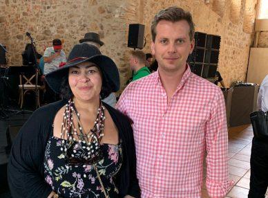 Мариам Мерабова в Барселоне на частном празднике