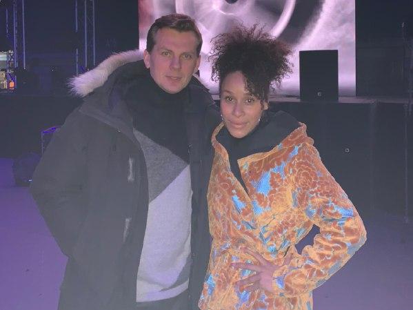 Oceana с букинг-агентом BnMusic в Алматы перед концертом