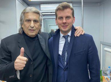 Тото Кутуньо выступил на корпоративе в Москве