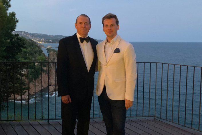 Frank Sinatra tribute в Испании на частном празднике с агентом BnMusic