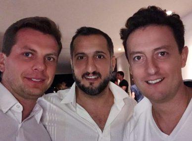 Арарат Кещан и Стас Ярушин с агентов BnMusic перед выступлением в Измире