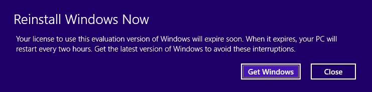 Windows 8.1 Preview Expiry Problems