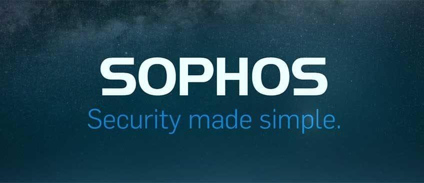 The Sophos Shake Up