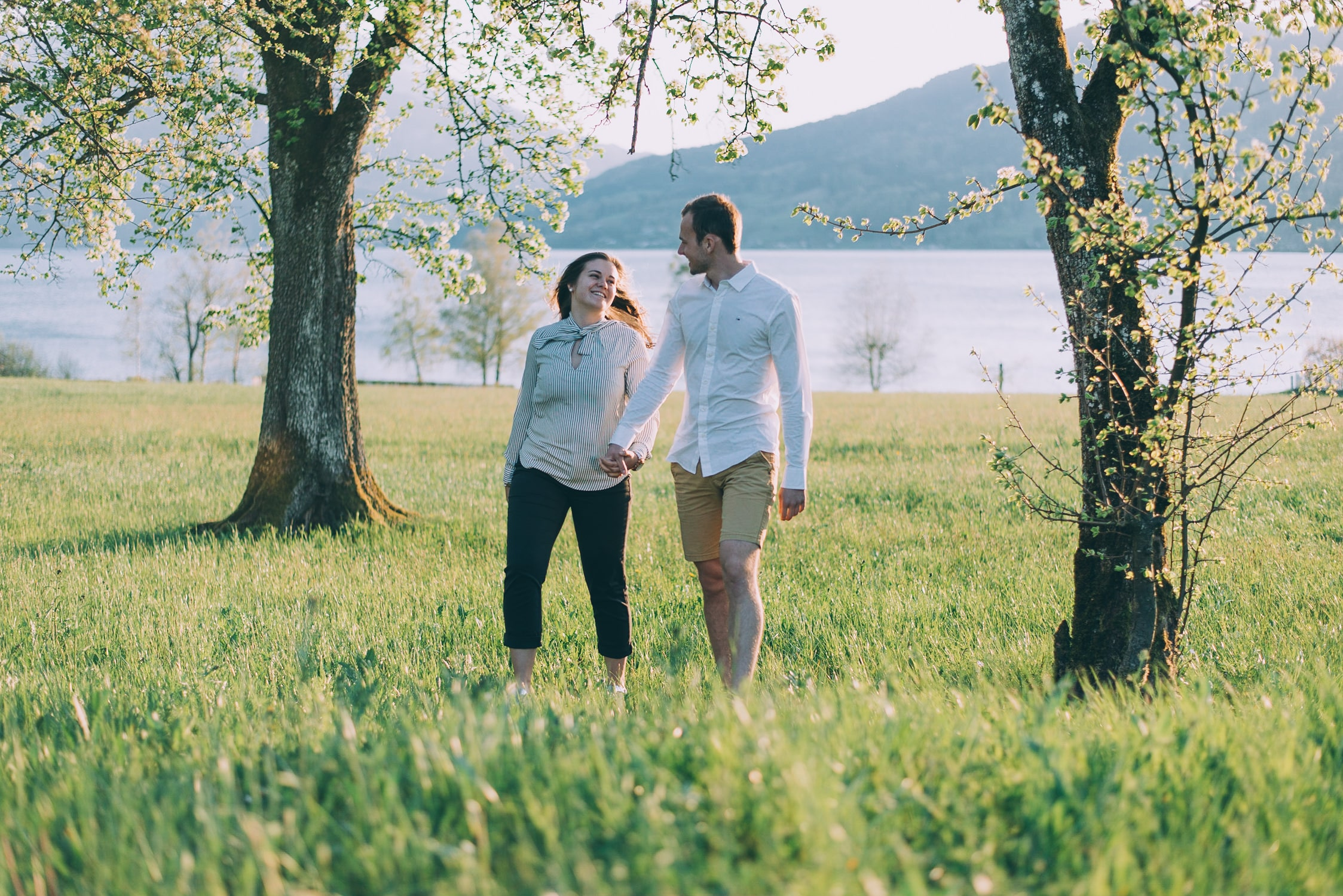 Paarshooting in der Natur am Attersee