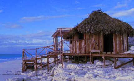 La cabane du bord de mer, pratique pour baiser discrètement avec son amant
