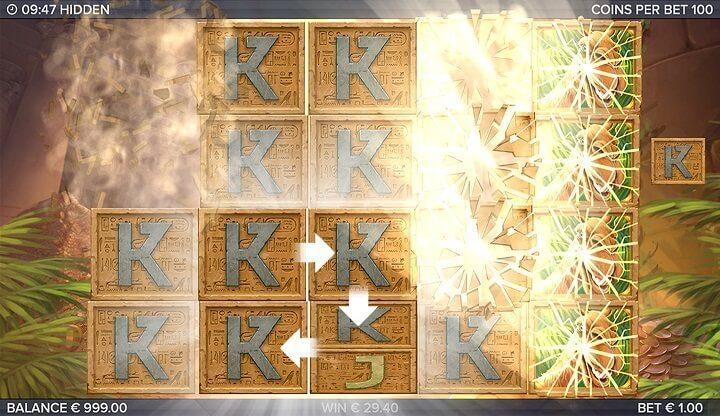 Det mest givende bonusspil i Hidden from Elk Studios er det free spin-spil,