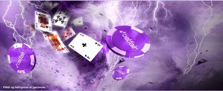 Du kan kun indløse din pokerbonus hos Betfair i euro og ingen DKK.