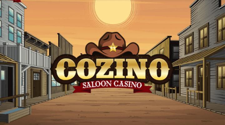 Anmeldelse af Cozino online casino - et websted med mange spilleautomater og live casino spil.