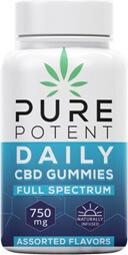 Pure Potent CBD gummies review