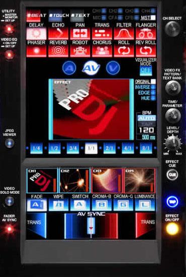 SVM-1000 Touchscreen