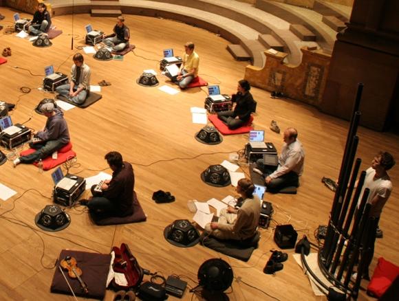 PLOrk, Princeton's laptop music ensemble