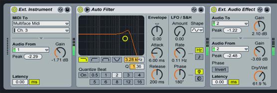 External MIDI in Live 7