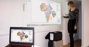 mallette interactive vanITy bag - vidéoprojecteur interactif mobile