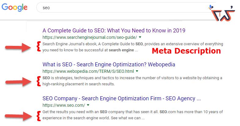 تولید محتوا مقاله ای meta description