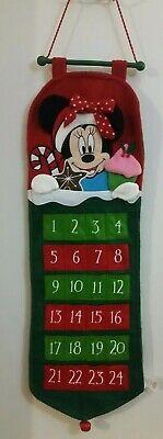 Disney Minnie Mickey Mouse Advent Calendar Christmas Countdown
