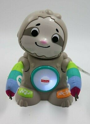 Fisher Price Linkimals Smooth Moves Sloth Interactive Robot Toy