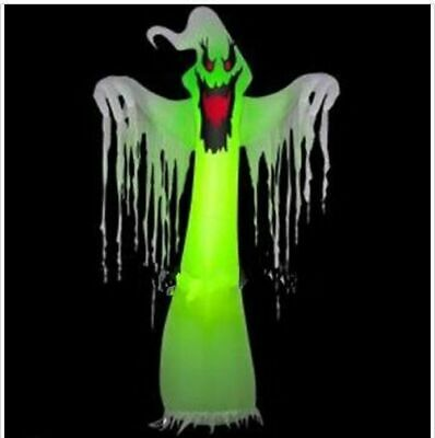 Popular Giant Inflatable LED Ghost for Halloween Decoration 10ft with Blower Y