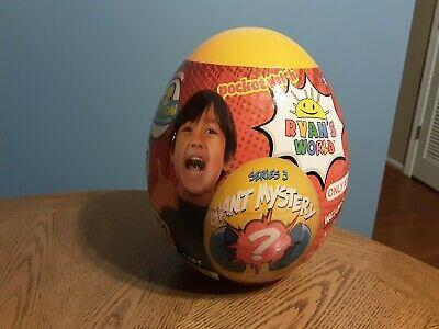 Ryan's World Giant Mystery ? Egg (Series 3 Orange) Target Exclusive New