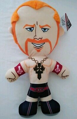 "WWE Brawlin Buddies Sheamus Wrestler Stuffed Plush Toy 17"" Age 3 Plus"