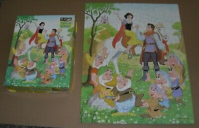 Walt Disney Snow White & 7 Dwarfs 200 Piece Puzzle
