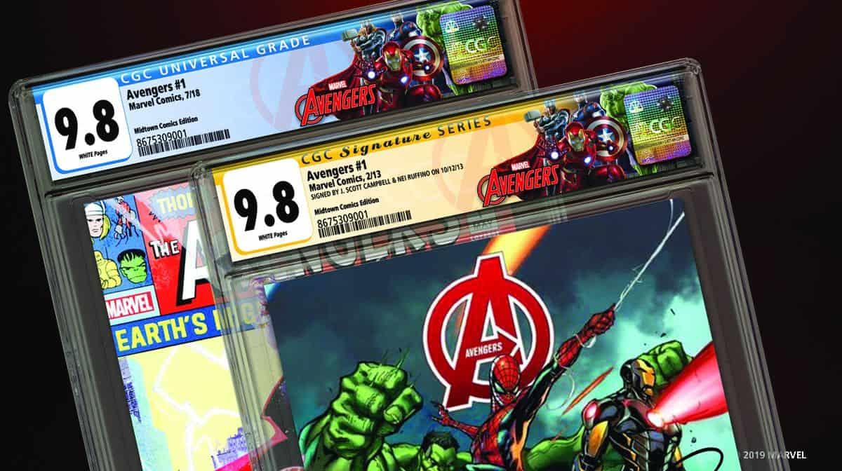 CGC Releases Marvel Avengers Label