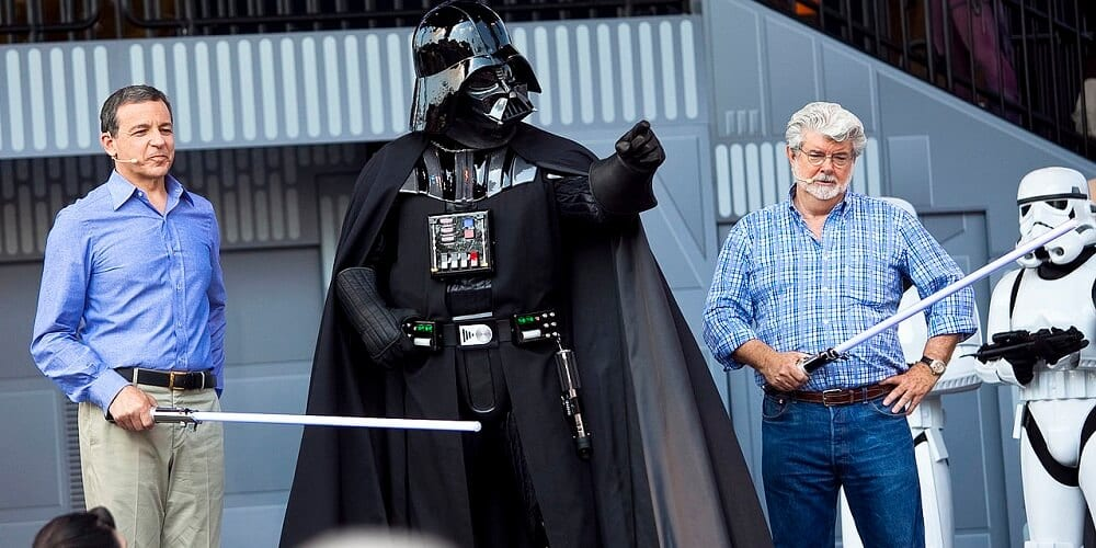 Bob Iger Memoir Rise of Skywalker George Lucas and Vader