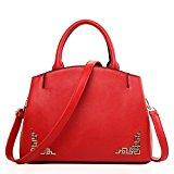 WQT handbag/Fashion Bridal package Platinum package/ Chinese lady bag/Shoulder Messenger bag-Red