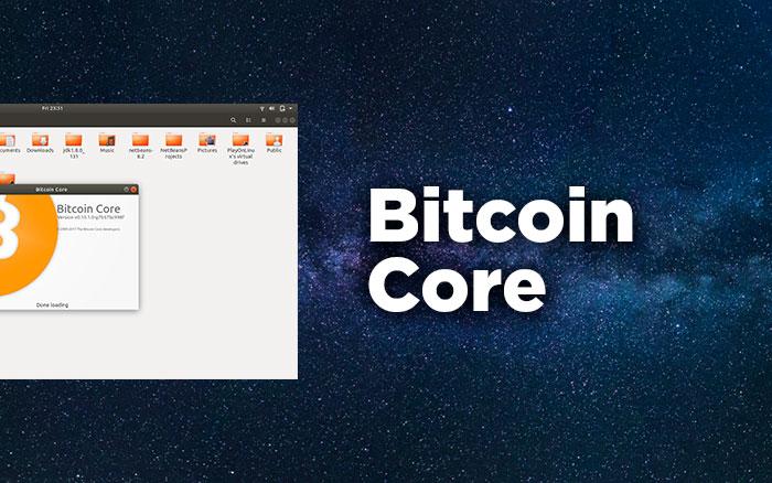 Криптокошелек Bitcoin core