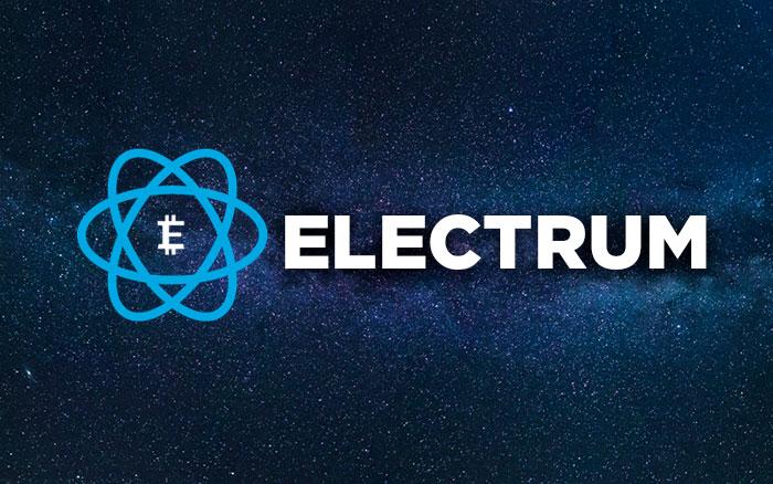Кошелек для криптовалют electrum