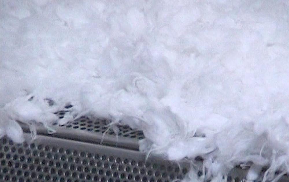 Cotton fibre dryer model B 72