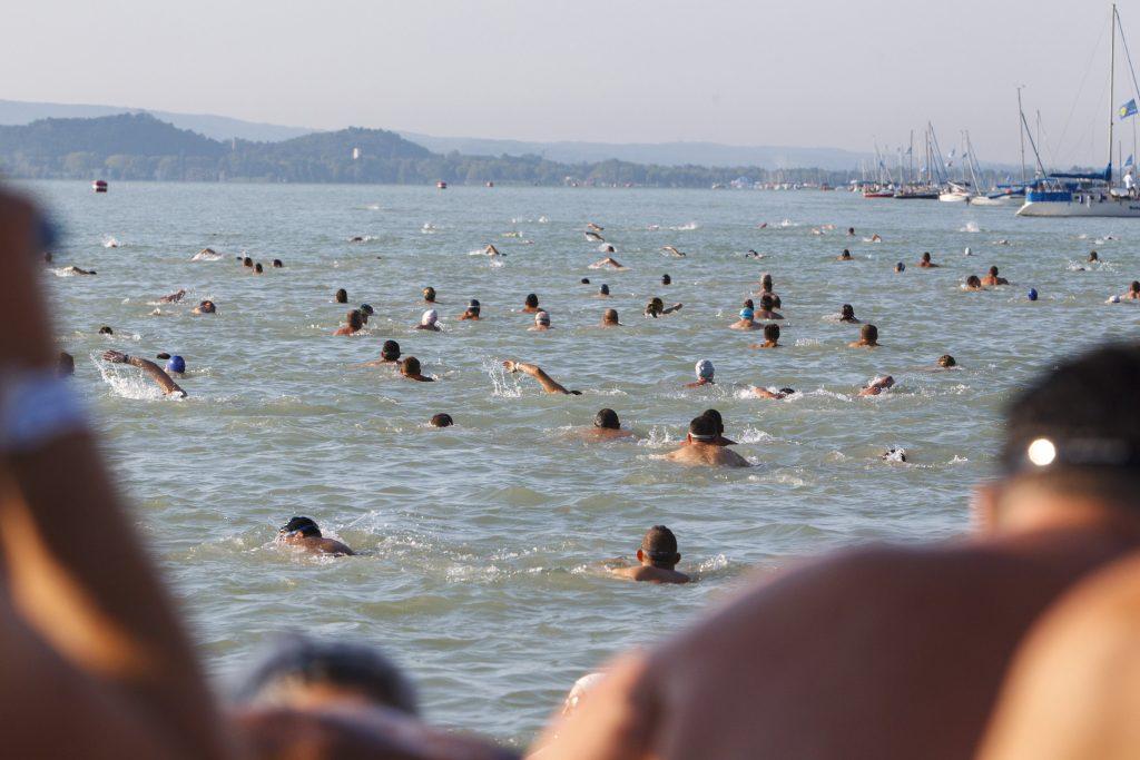 Lake Balaton swimming