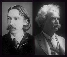 Robert Louis Stevenson und Mark Twayn - kostenlose eBooks