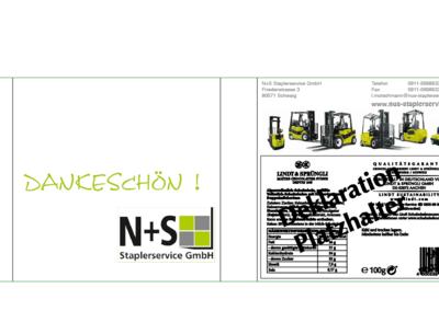 N+S-Stapler Schuber