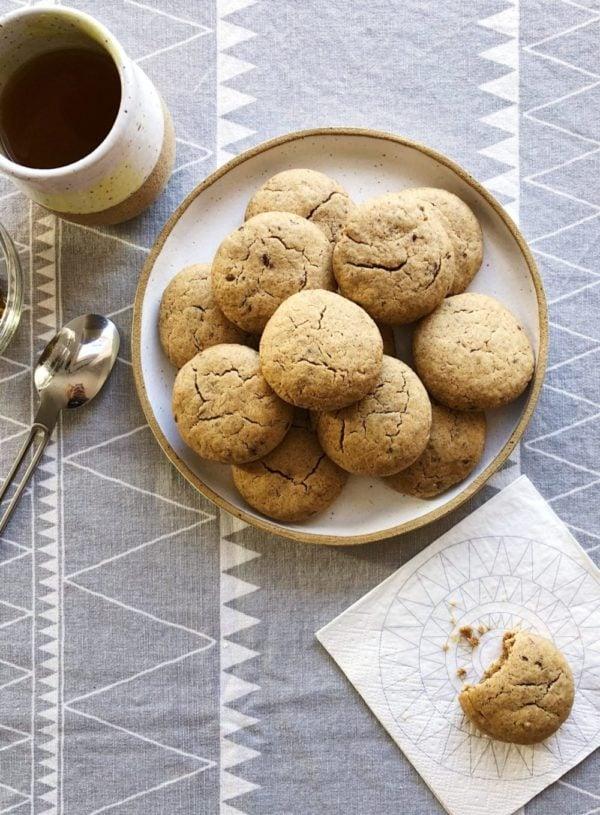 Energizing Peanut Butter Hemp Cookies