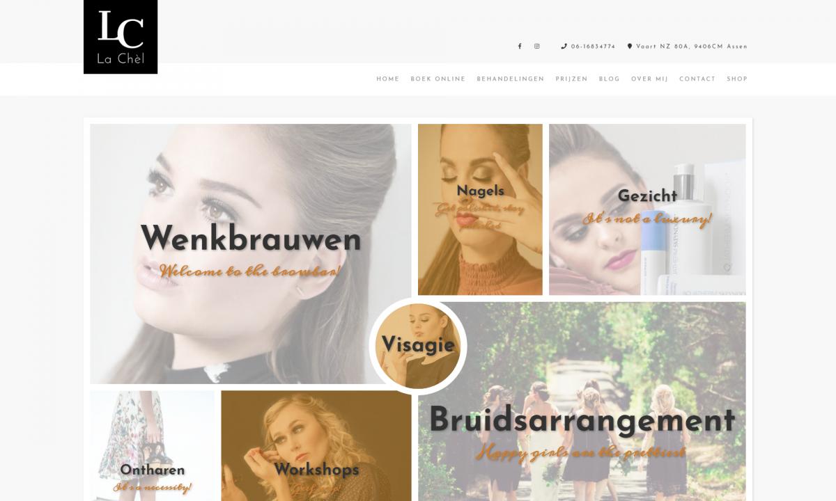 La Chel Website Design