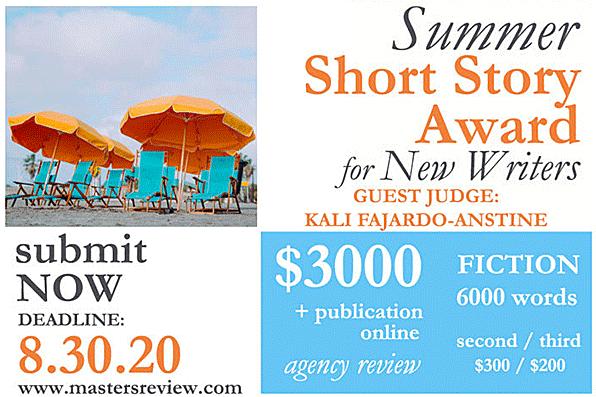 Summer Short Story Award for New Writers