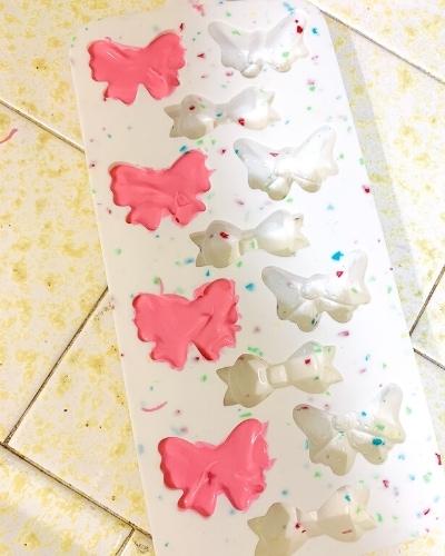 candy melt bow mold