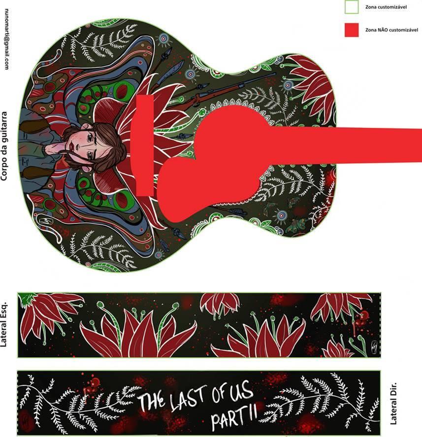 desafio guitarra last of us
