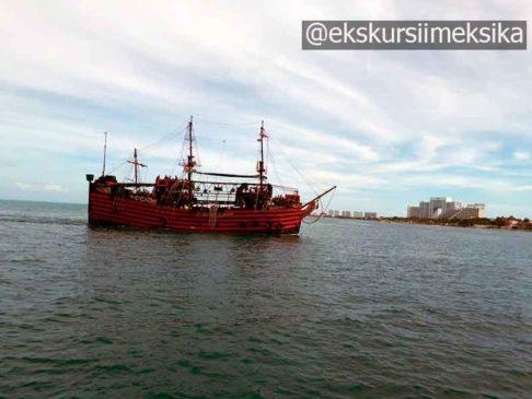 Пиратское шоу из удивительного Канкуна