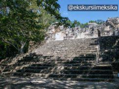 Святилище древних руин в Мексике