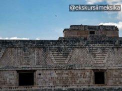 Фреска в древнем городе Ушмаль Мексика