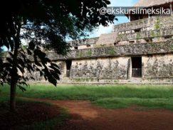 Древний акрополь Эк-Балам в Мексике