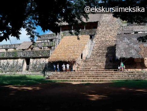 Древний город Эк-Балам в Мексике