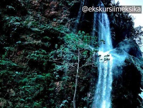 Чарующие водопады Чорреадеро Чьяпас